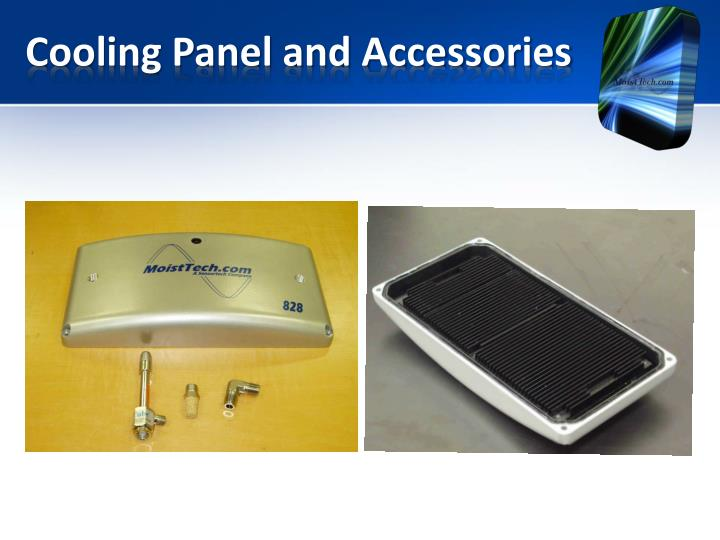 Cooling Panel and Accessories