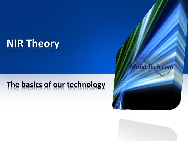 NIR Theory