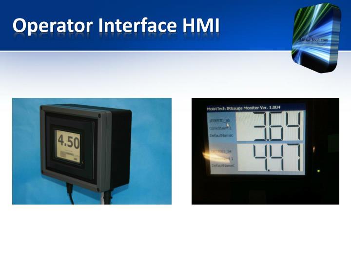 Operator Interface HMI