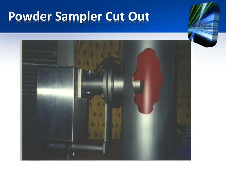 Powder Sampler Cut Out