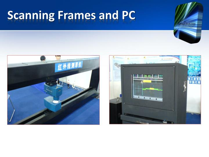 Scanning Frames and PC