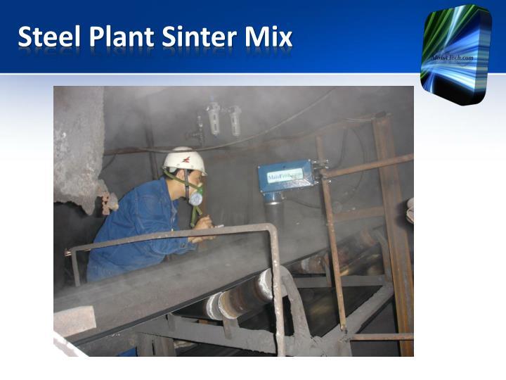 Steel Plant Sinter Mix