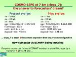 cosmo leps at 7 km cleps 7 the answer to forecasters dream