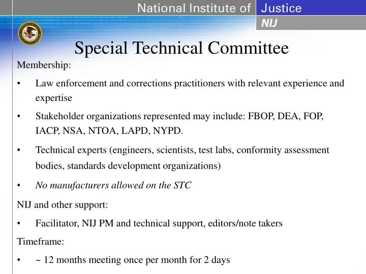 Special Technical Committee