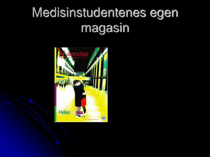 Medisinstudentenes egen magasin