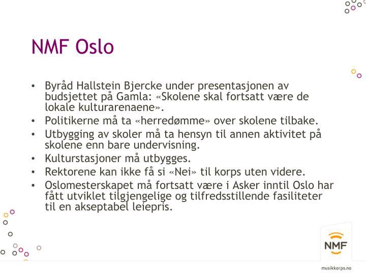 NMF Oslo