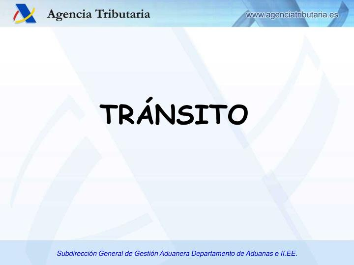 TRÁNSITO