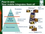 four in one your mobile integrates them all