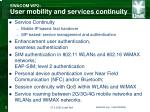 swacom wp2 user mobility and services continuity1