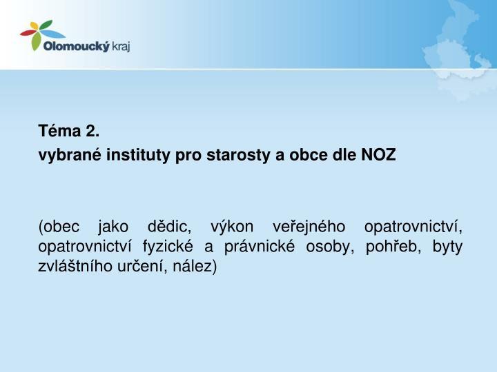 Téma 2.