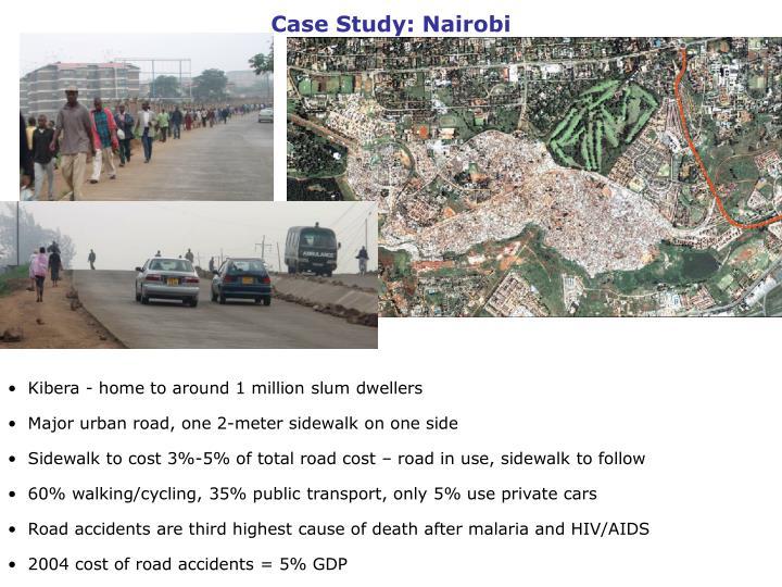 Case Study: Nairobi