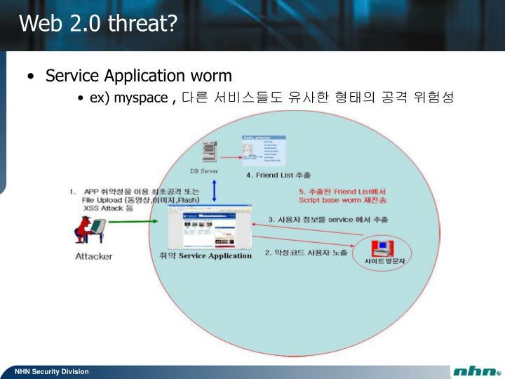 Service Application worm