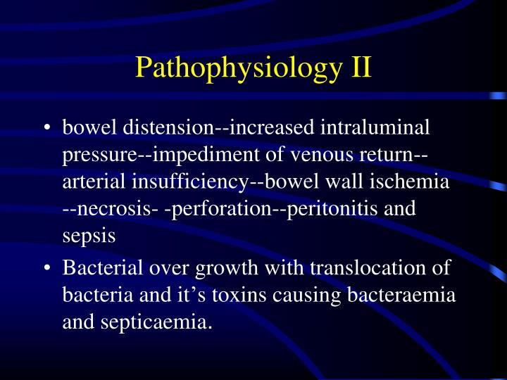 Pathophysiology II