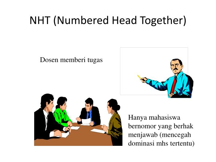 NHT (Numbered Head Together)