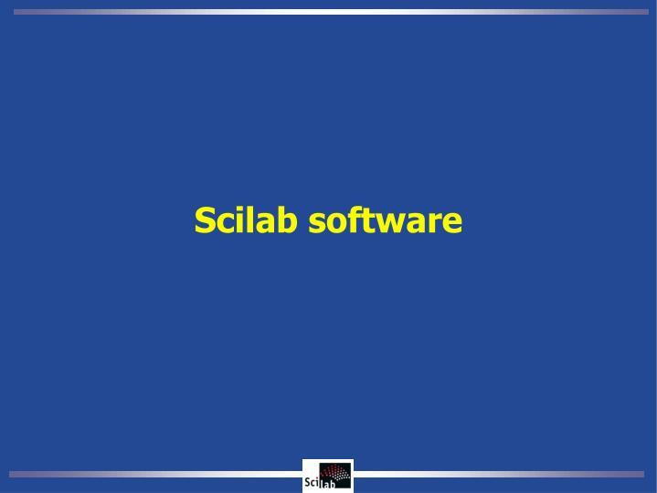 Scilab software