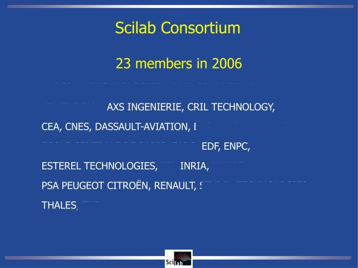 Scilab Consortium