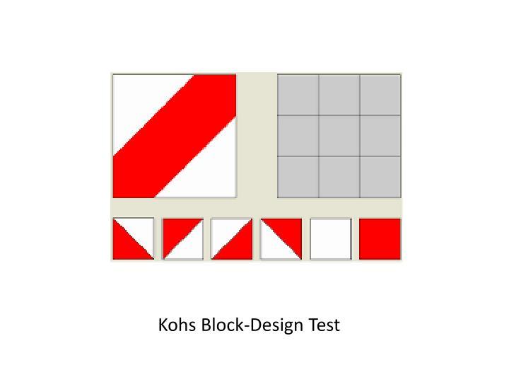 Kohs Block-Design Test