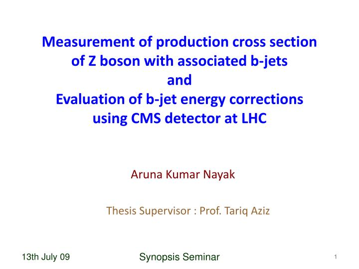 Measurement of production cross section of Z boson with associated b-jets