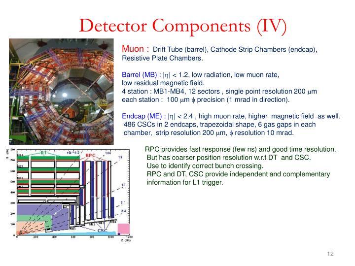Detector Components (IV)