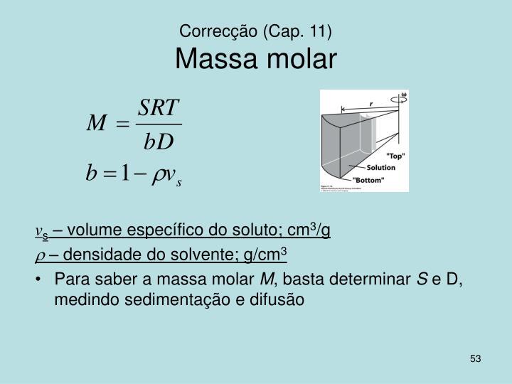 Correcção (Cap. 11)