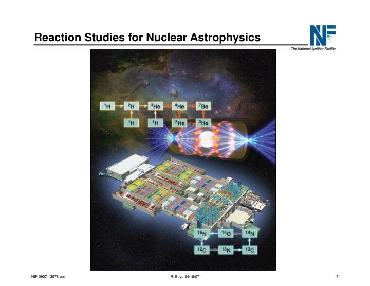 Reaction Studies for Nuclear Astrophysics