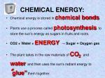 chemical energy1