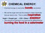chemical energy2