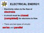 electrical energy5
