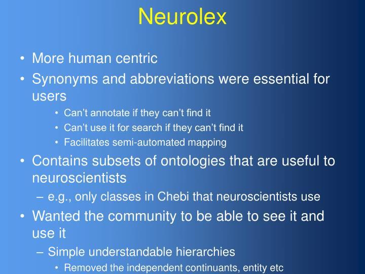 Neurolex