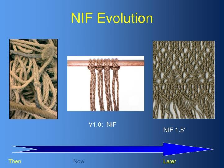 NIF Evolution