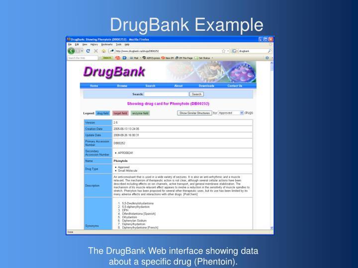 DrugBank Example