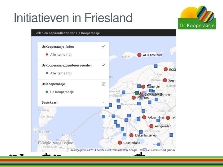 Initiatieven in Friesland