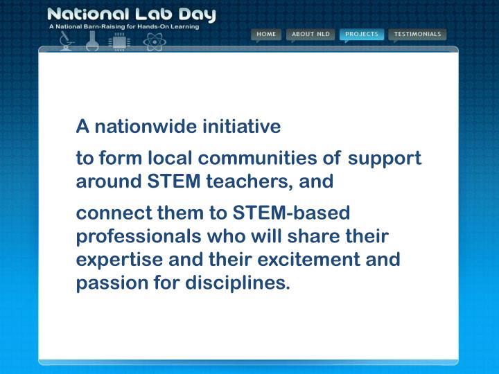 What is National Lab Day?