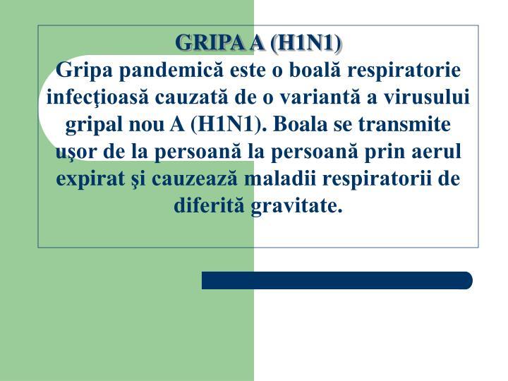 GRIPA A (H1N1)