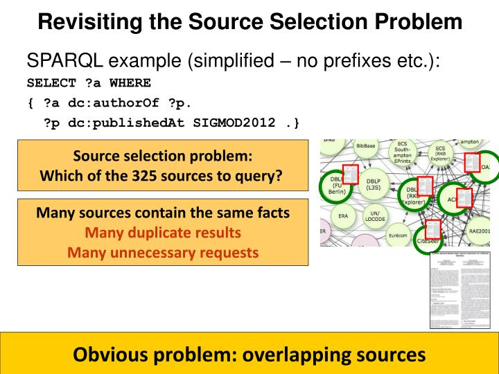 Revisiting the Source Selection Problem