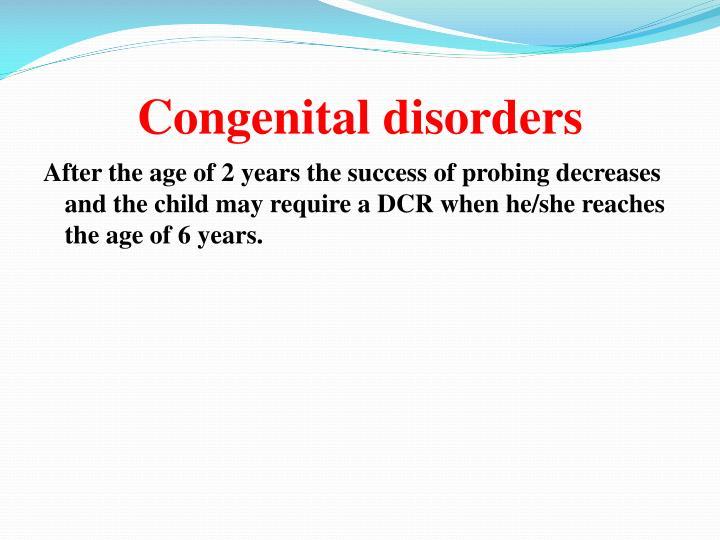 Congenital disorders