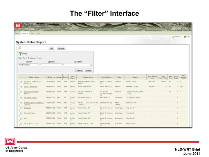 """The """"Filter"""" Interface"""