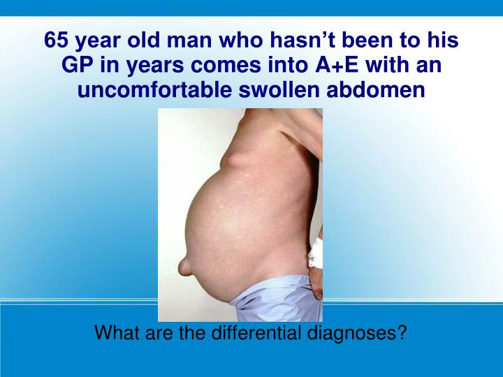 What are the differential diagnoses?