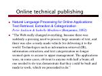 online technical publishing