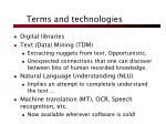 terms and technologies3