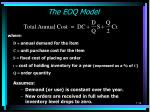 the eoq model