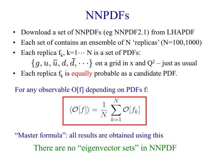 NNPDFs