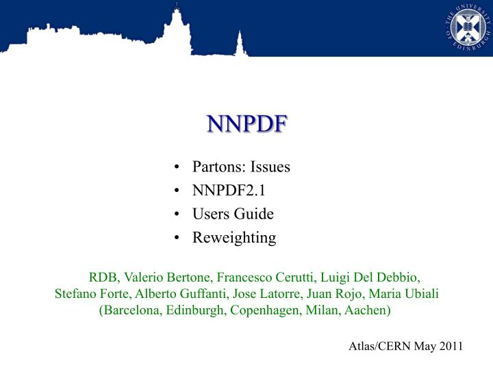 NNPDF