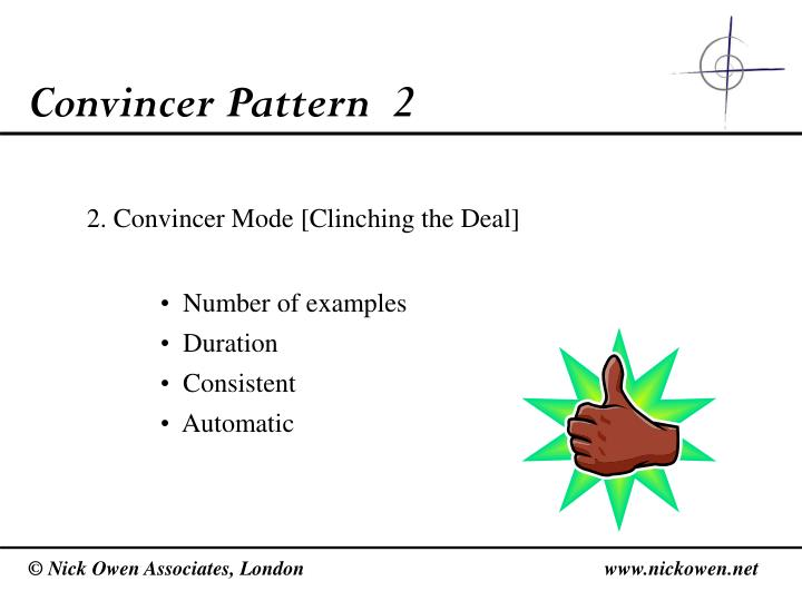 Convincer Pattern  2