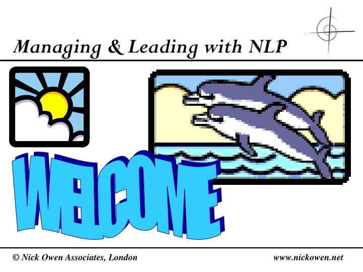 Managing leading with nlp