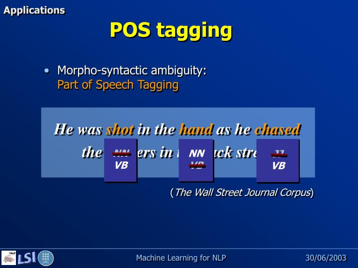 Morpho-syntactic ambiguity