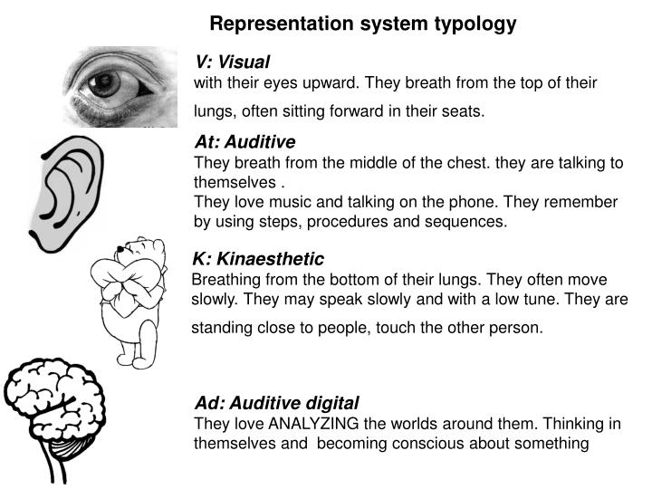 Representation system typology