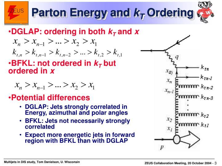 DGLAP: ordering in both