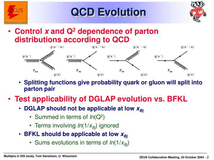 QCD Evolution