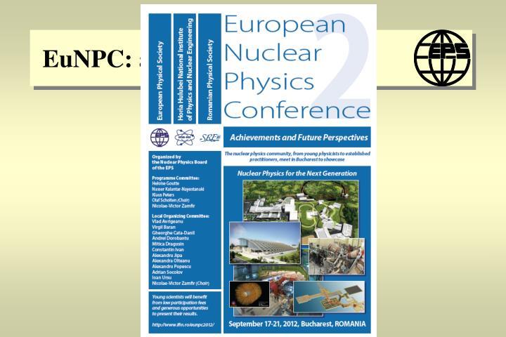 EuNPC: a pan-European event